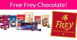 Free Frey Chocolate !