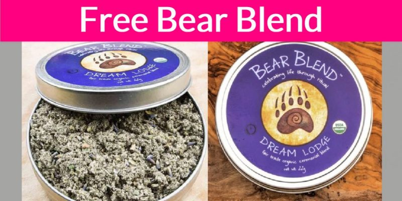 FREE SAMPLE OF BEAR BLEND'S ORGANIC HERBS!