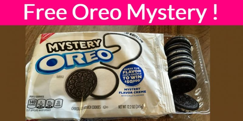 FREE – Full Size – Pack of Oreo Mystery!