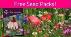 Totally FREE Wildflower Seed Packs! EASY!