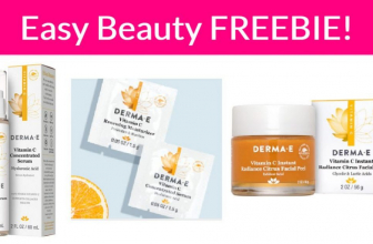 Vitamin C Serum + Moisturizer – Easy Free Sample By Mail!