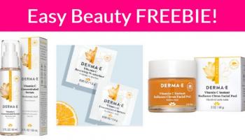 Vitamin C Serum + Moisturizer – Easy Free Sample By Mail!