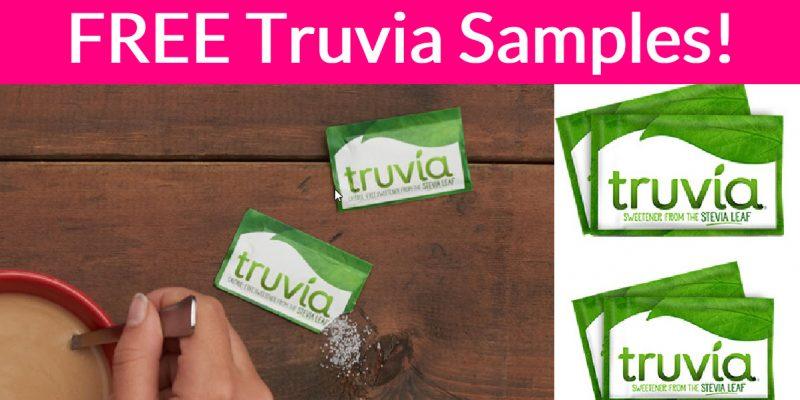 Free Truvia Natural Sweetener Sample!