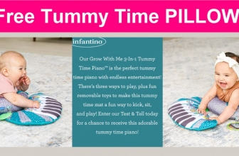 Possible FREE Grow With Me 3-In-1 Tummy Time Piano!