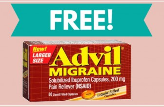 WOW! TOTALLY FREE FULL SIZE bottle Advil Migraine!