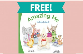 FREE Amazing Me It's Busy Being 3! Book
