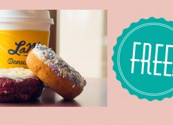 FREE Donut & Coffee for Moms at LaMar's