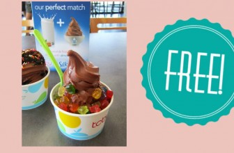 100% FREE Frozen Yogurt!