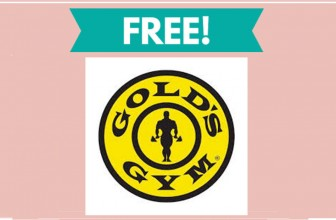 Free Golds Gym Pass!