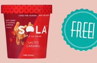 Get FREE Sola Ice Cream at HyVee!
