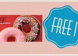 YUM! Totally Free Krispy Kreme Doughnut