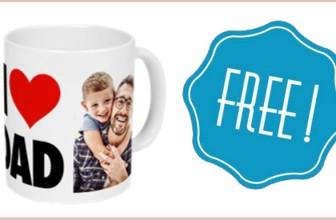 Get a FREE Customizable Ceramic Mug! { Just Pay Shipping }