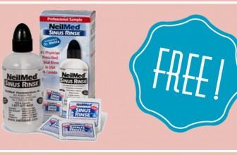 Get a FREE NeilMed Sinus Rinse Bottle or NasaFlo Neti Pot!