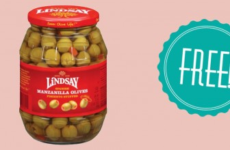 Yummmy ! Very Easy – Totally FREE Lindsay Olives!