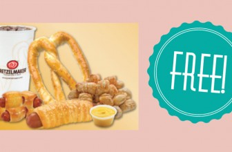 FREE Pretzel at Pretzelmaker !