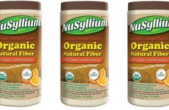 FREE Sample By Mail of NuSyllium Fiber Supplement