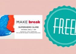 FREE Super Hero Slime