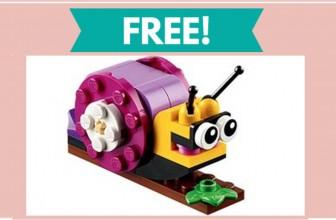 FREE Snail Model Lego!