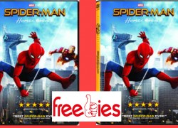 FREE Spider-Man Homecoming DVD !