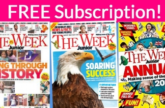 """SUPER Easy! Free Subscription to """" The Week Journal """" Jr. !"""