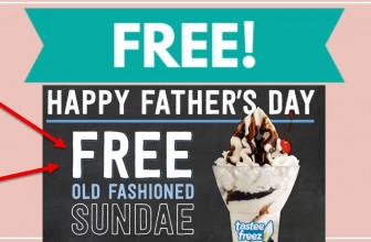 Totally FREE Ice Creams Sunday For Dads!