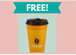 WOW! FREE Travel Mug – PAY NOTHING AT ALL!
