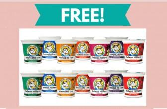 TOTALLY FREE Redwood Hill Farm Yogurt Cup!