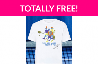 Free Tennis T-Shirt Designed by Venus Williams!