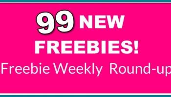 99 Freebies! HUGE Freebie Round-Up . Wowza.