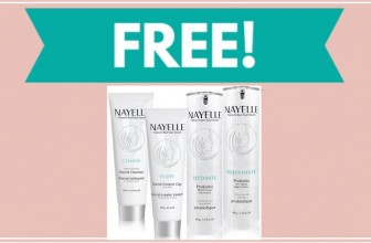 Free Nayelle Cleanse Facial Cleanser Sample!