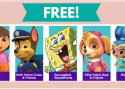 Free Personalized Birthday Call from a Nick Jr Character!