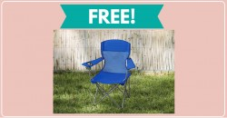 WHOA! Free Camping Chair ! [ SUPER EASY! ]