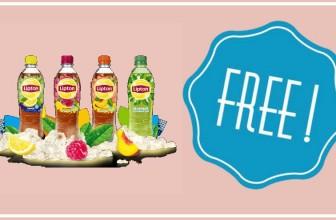 FREE 20oz bottle of Lipton Iced Tea