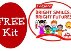 Educators – FREE Colgate Bright Smiles, Bright Futures Kit