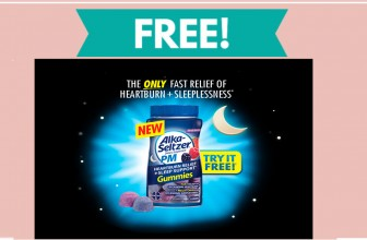FREE – FULL SIZE – Alka Seltzer Night Time Gummies!