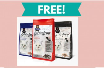 TOTALLY Free Bag of Fussie Cat food!