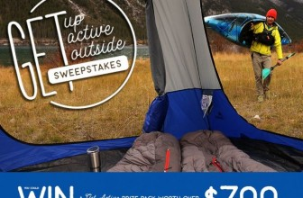 Win a $720 Get Active Prize Pack!