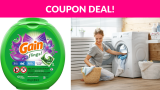 Gain Flings! Liquid Laundry Detergent Pacs!