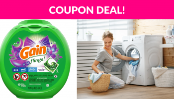 Gain Flings! Liquid Laundry Detergent Pacs!