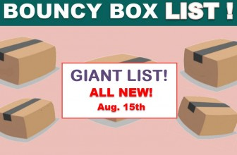 MEGA LIST Of – INSANE ODDS to WIN – BOUNCY BOX Giveaways! = Wednesday !