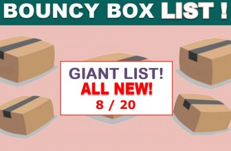 MEGA LIST Of – INSANE ODDS to WIN – BOUNCY BOX Giveaways! = Monday !