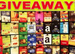 Win $1000 worth of Gift Cards!