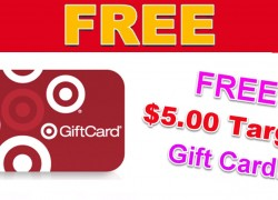 FREE $5 Target Gift Cards