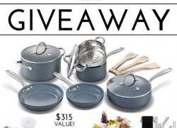Win a HUGE Cookware Set!! $315 Value