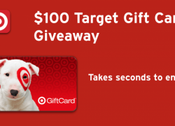 Enter to Win $100 Target Gift Card and more