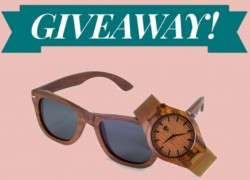 ENTER TO WIN $400 Sunglasses and Watch Set.