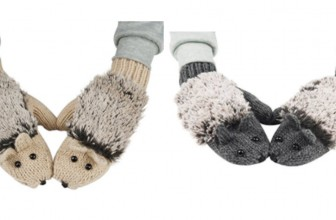 OMG! THESE are So CUTE!  Hedgehog Gloves ONLY $7.26 SHIPPED!