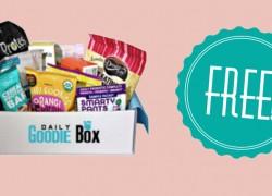 Score a FREE Goodie Box!