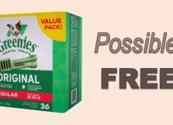Possible FREE GREENIES Treats !