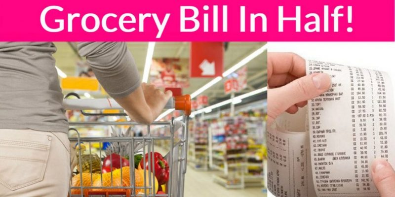 5 Genius Hacks to Cutting Your Grocery Bill IN HALF !